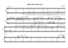 Quiet Movements: No.6 for celesta and piano, MVWV 611 by Maurice Verheul