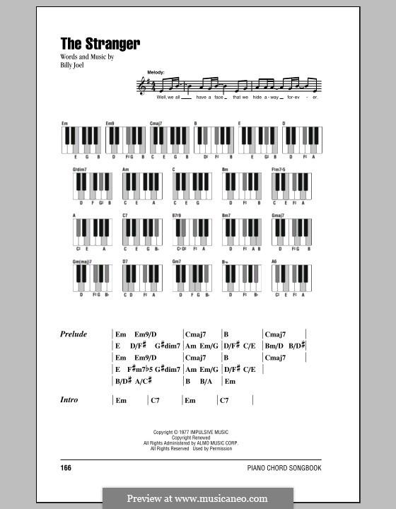 The Stranger: Texte und Akkorde by Billy Joel