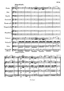 Konzert für Klavier und Orchester Nr.16 in D-Dur, K.451: Teil III by Wolfgang Amadeus Mozart