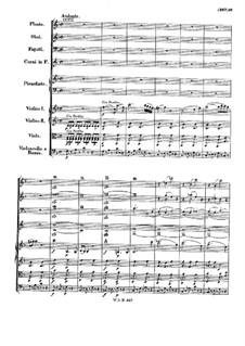 Konzert für Klavier und Orchester Nr.21 in C-Dur, K.467: Teil II by Wolfgang Amadeus Mozart