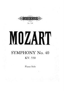 Vollständiger Teile: Bearbeitung für Klavier by Wolfgang Amadeus Mozart