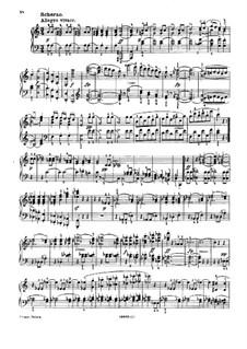 Sonate für Klavier Nr.16 in a-Moll, D.845 Op.42: Teile III, IV by Franz Schubert