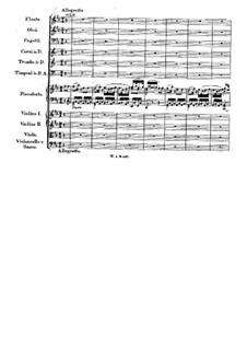 Konzert für Klavier und Orchester Nr.26 in D-Dur 'Krönungskonzert', K.537: Teil III by Wolfgang Amadeus Mozart