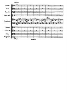 Konzert für Klavier und Orchester Nr.27 in B-Dur, K.595: Teil III by Wolfgang Amadeus Mozart
