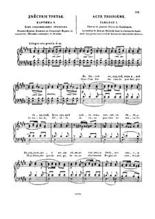 Fragmente: Akt III. Version für Klavier by Modest Mussorgski
