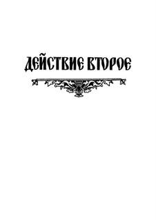 Fragmente: Akt II. Version für Stimmen und Klavier by Modest Mussorgski