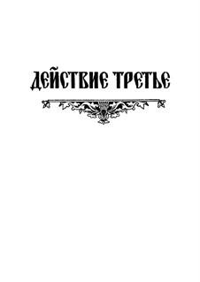 Fragmente: Akt III. Version für Stimmen und Klavier by Modest Mussorgski