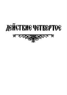 Fragmente: Akt IV. Version für Stimmen und Klavier by Modest Mussorgski