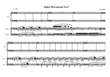Quiet Movements: No.5 for timpani and piano, MVWV 610 by Maurice Verheul