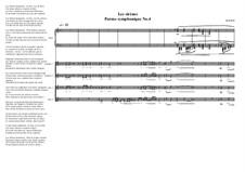 Poème symphonique No.4 for 2 sopranos and 2 contra-altos and piano, MVWV 576: Poème symphonique No.4 for 2 sopranos and 2 contra-altos and piano by Maurice Verheul