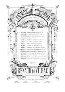 Sinfonie Nr.4 in A-Dur 'Italienische', Op.90: Andante, für Harmonium und Klavier – Harmoniumstimme by Felix Mendelssohn-Bartholdy