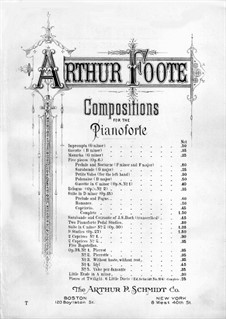 Gavotte and Eclogue, Op.8: Nr.2 Ekloge by Arthur  Foote
