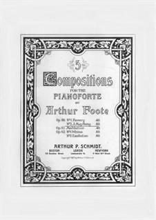 Zwei Stücke, Op.60: No.2 A May Song by Arthur  Foote