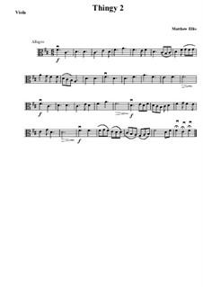 Thingy No.2: Viola by Matthew Ellis