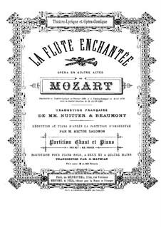 Vollständige Oper: Für Stimmen und Klavier by Wolfgang Amadeus Mozart