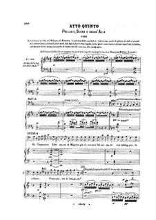 Der Prophet: Akt V by Giacomo Meyerbeer