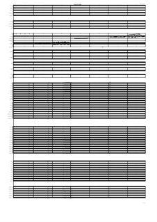 Poème symphonique No.1 for Soprano, Narrator, Grand Orchestra, percussion group and piano, MVWV 331: Poème symphonique No.1 for Soprano, Narrator, Grand Orchestra, percussion group and piano by Maurice Verheul