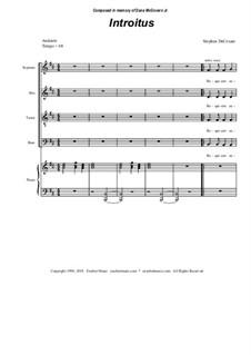 Requiem Mass: Klavierauszug mit Singstimmen by Stephen DeCesare