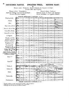 Romeo und Julie, H.79 Op.17: Teil II. Partitur by Hector Berlioz