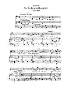 Les nuits d'été (Summer Nights),  H.81 Op.7: No.3 Sur les lagunes (f minor) by Hector Berlioz