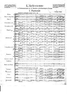 Suite II: Vollpartitur by Georges Bizet