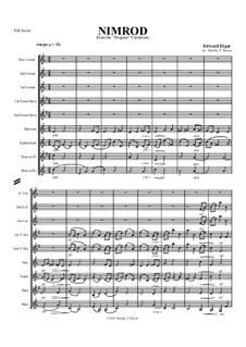 Variation Nr.9 'Nimrod': For brass band by Edward Elgar