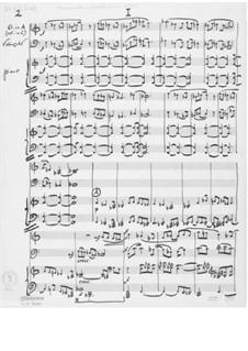 Trio Nr.1 für Klarinette, Cello und Klavier: Vollpartitur by Ernst Levy