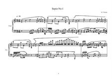 3 Sopio's for piano: Sopio No.1, MVWV 546 by Maurice Verheul