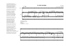 Poéme No.2 for Organ and Soprano Based on a poém of Gaston Gouté, MVWV 533: Poéme No.2 for Organ and Soprano Based on a poém of Gaston Gouté by Maurice Verheul
