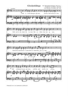 Glockenklänge, WoO 118: Glockenklänge by Louis Spohr