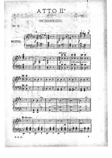 La belle Hélène (Die schöne Helena): Akt II, für Klavier by Jacques Offenbach