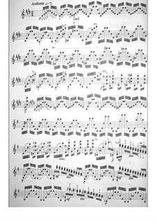Vierundzwanzig Capricen, Op.1: Caprice Nr.1 by Niccolò Paganini