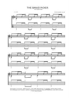The Banjo Picker, Op.238: The Banjo Picker by Berndt Leopolder