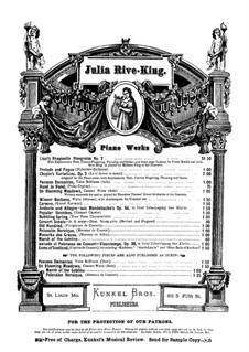 Heroische Polonäse: Für Klavier by Julie Rivé-King