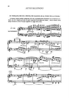 Edgar: Akt II, Klavierauszug mit Singstimmen by Giacomo Puccini