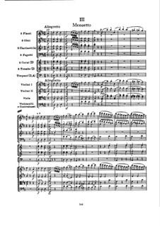 Sinfonie Nr.101 in D-Dur 'Die Uhr', Hob.I/101: Teil III by Joseph Haydn