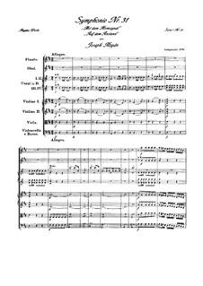 Sinfonie Nr.31 in D-Dur 'Mit dem Hornsignal', Hob.I/31: Sinfonie Nr.31 in D-Dur 'Mit dem Hornsignal' by Joseph Haydn