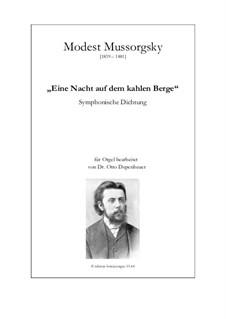 Eine Nacht auf dem kahlen Berge: Version für Orgel by Modest Mussorgski