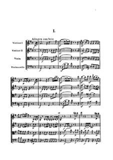 Streichquartett Nr.51 in G-Dur, Hob.III/66 Op.64 No.4: Vollpartitur by Joseph Haydn
