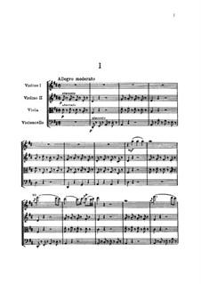Streichquartett Nr.53 in D-Dur 'Lerche', Hob.III/63 Op.64 No.5: Vollpartitur by Joseph Haydn