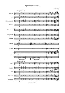 Symphony No.23: Symphony No.23 by Jordan Grigg