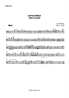 Flow My Tears (Lachrimae Antiquae): For oboe, two violins, cello and double bass – cello part by John Dowland