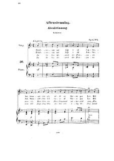 Fünf Lieder, Op.14: Alle Lieder by Halfdan Kjerulf