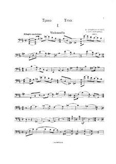Klaviertrio in D-dur, Op.22: Cellostimme by Ivan Krischanowskij