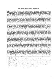 Musikalische Vorstellungen einiger biblischen Historien in sechs Sonaten: Sonate Nr.1 in C-Dur by Johann Kuhnau