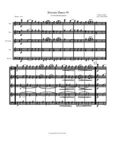 Nr.8 Furiant: For woodwind quintet by Antonín Dvořák