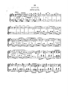 Le cœur et la main: Akt II, für Stimmen und Klavier by Charles Lecocq
