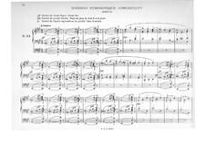 Leichtes Trios: No.24 Scherzo symphonique concertant by Jacques-Nicolas Lemmens