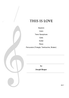 This Is Love: This Is Love by Joseph Hasper