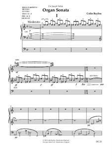 Organ Sonata, B56: Organ Sonata by Colin Bayliss